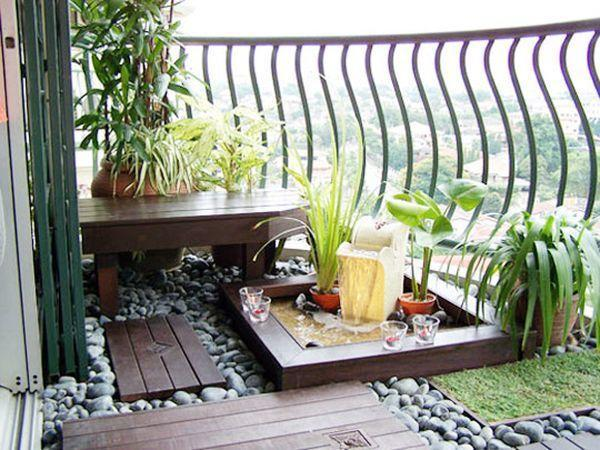 Маленькие балконы. 10 вариантов для вдохновения!