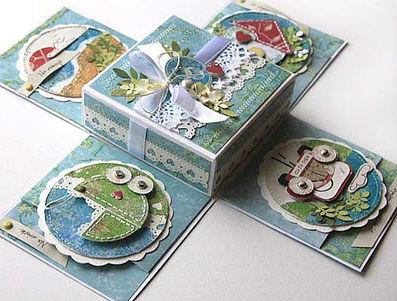 Подарок на свадьбу - денежная коробочка6