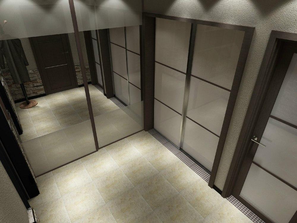 Однокомнатная квартира 43 кв. м.