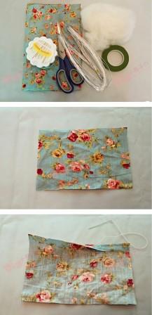 Пожалуй, это самый прекрасный вариант использования ненужной ткани. Я восхищена!