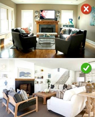 10 ошибок, которые мы допускаем в дизайне гостиной