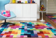 Эффектные элементы в интерьере - яркие ковры