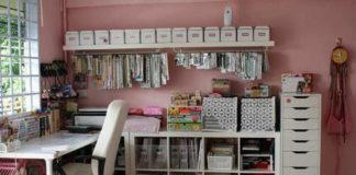 Как организовать рабочее место любителю hand-made