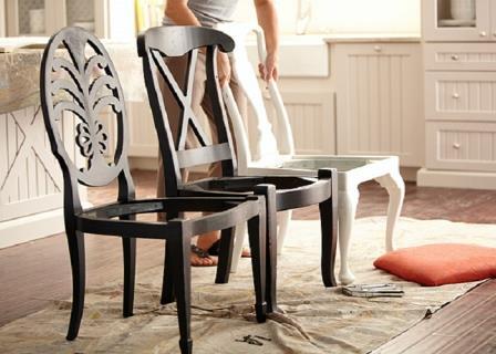 Невероятно! У этой мастерицы было всего лишь несколько старых стульев! Посмотрите, что она сделала