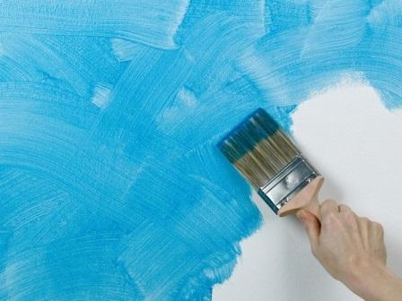 Оригинальная покраска стен