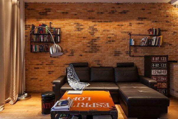 Дизайн квартиры в стиле «лофт»