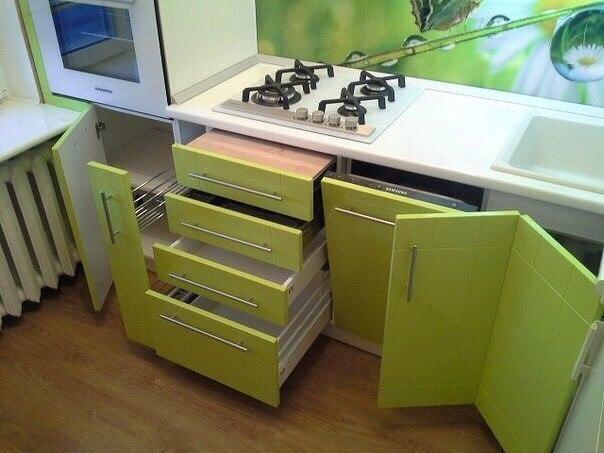 Идея для маленькой кухни