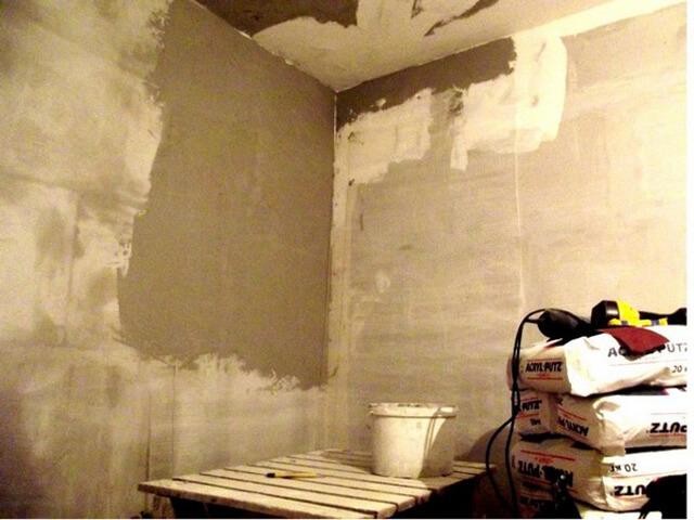 Как выровнять углы стен
