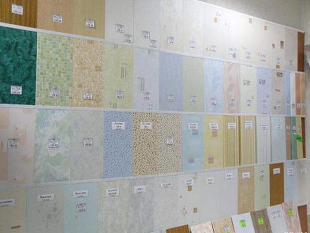 Монтаж на стены панелей пвх