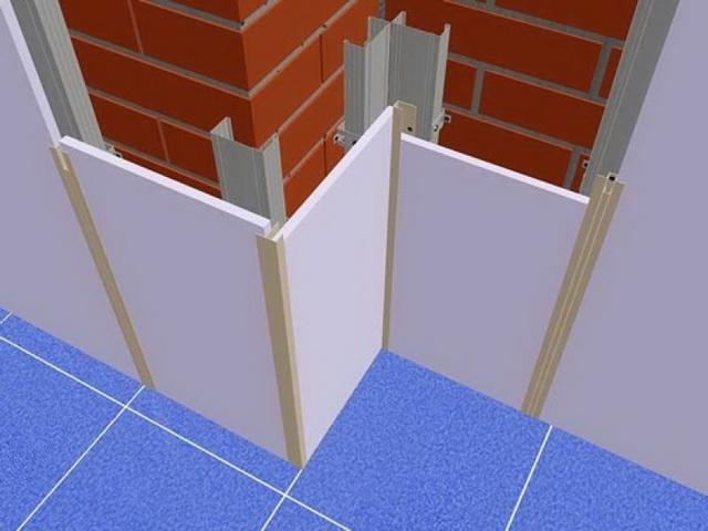 Как стены панелями