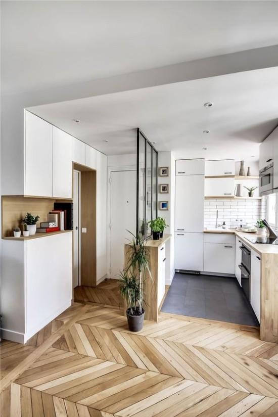 Несколько приёмов дизайна маленькой кухни