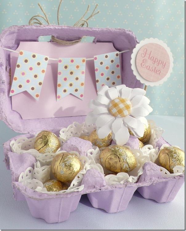 Женщина никогда не выбрасывает коробки из-под яиц. И вот, что она с ними делает