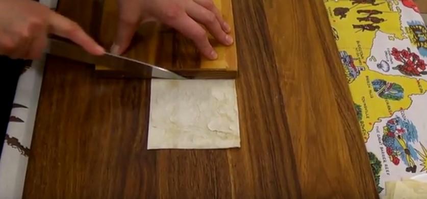 Корзиночки с начинкой