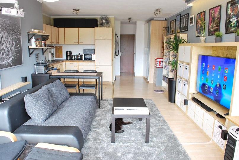 Квартира-студия около 40 кв. м