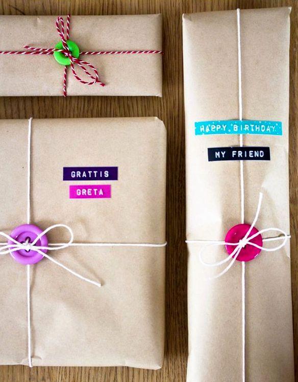 10 оригинальных идей упаковки подарка своими руками