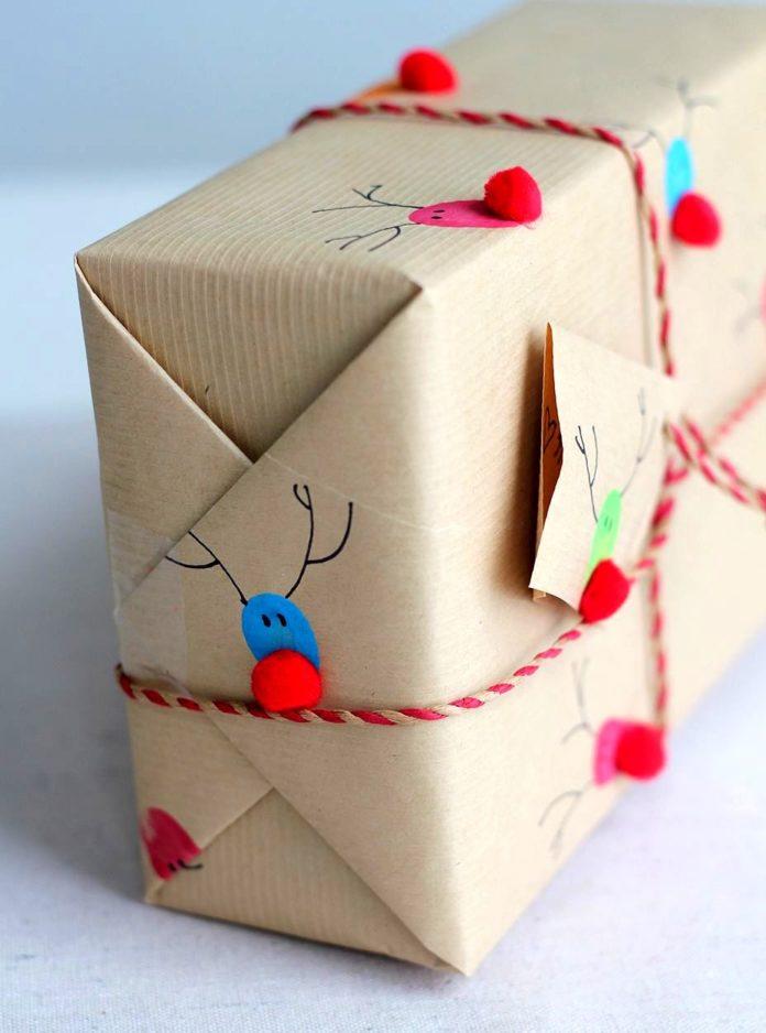 Оригинальное упаковка подарков своими руками