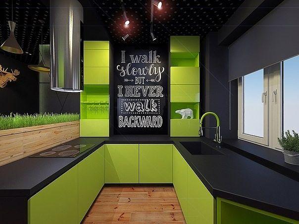 А вы любите зеленый цвет?