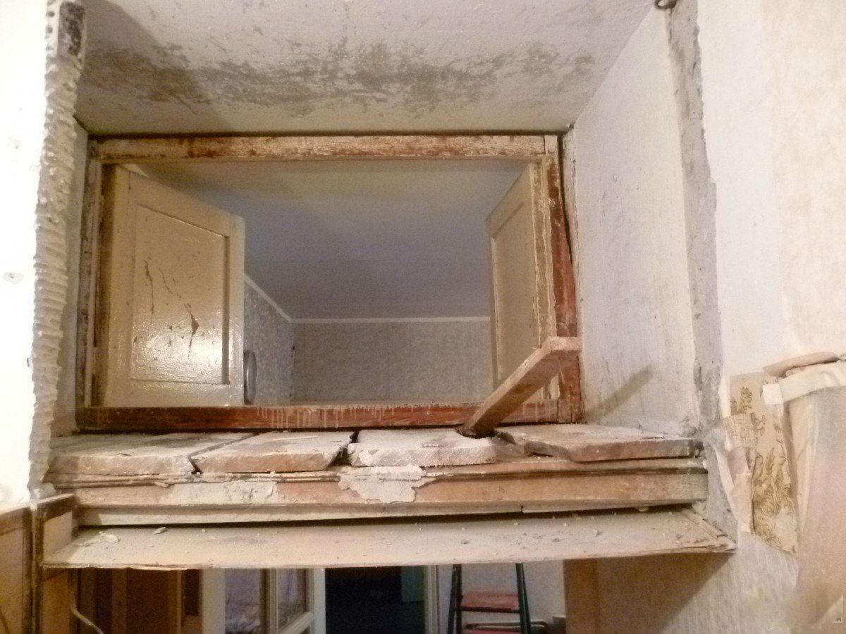 Как мы сделали проходную комнату в хрущевку
