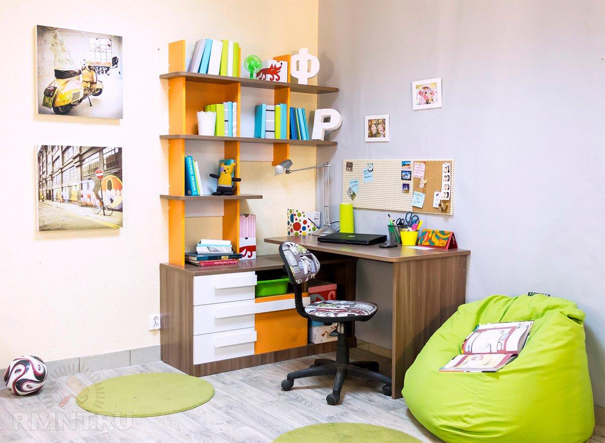 Как обустроить детскую комнату для школьника?