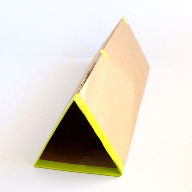 Обувной стеллаж своими руками из картона