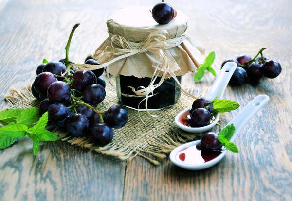 Виноградные заготовки на зиму
