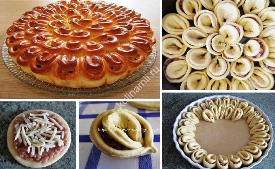 Как красиво сделать пирог
