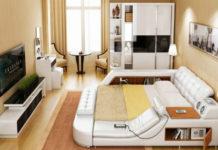 Впечатляющая многофункциональная кровать