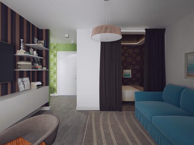 Двухкомнатная квартира 40 м2