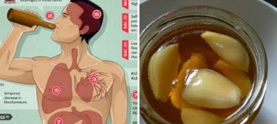 Ешьте чеснок и мед на пустой желудок в течение 7 дней