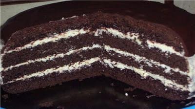 Торт «Шоколад» на кипятке