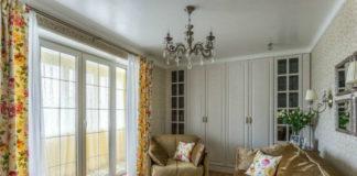 Феноменальная однушка с французским окном и большим количеством мест для хранения