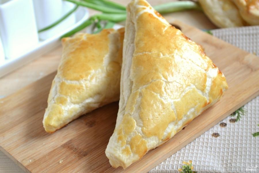 Рецепты слоеное тесто с сыром рецепт 20