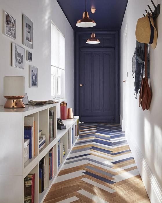 Как оформить коридор: 8 крутых примеров, от которых сложно отвести взгляд