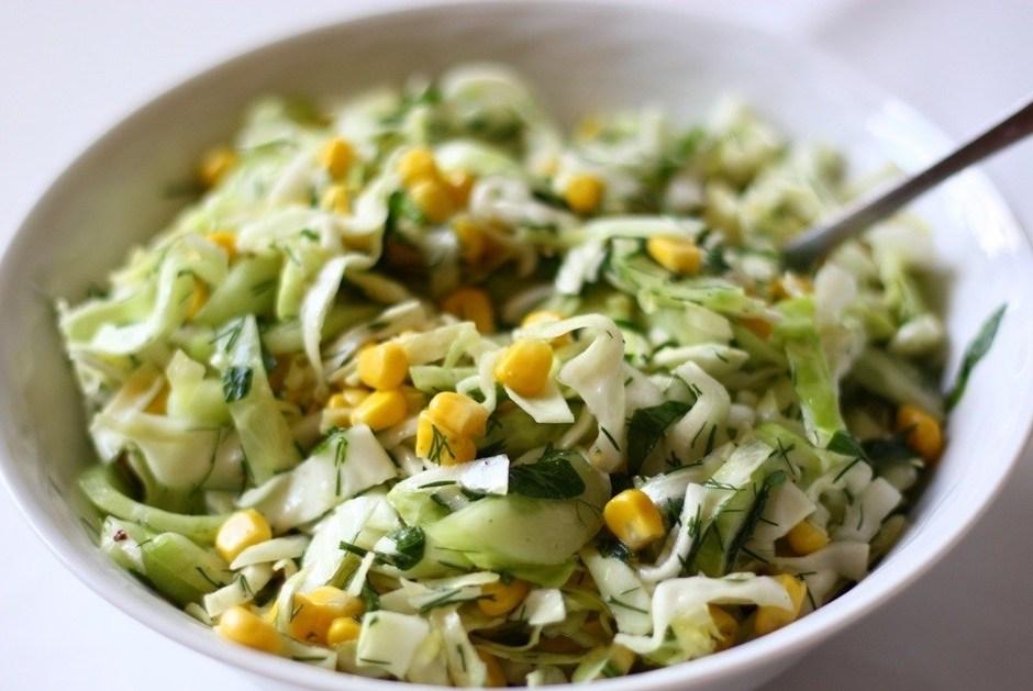 Супер-лёгкий салат: можно есть перед сном