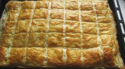 Рецепт быстрого слоеного теста, как хачапури