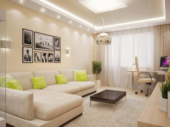 Уютная функциональная гостиная