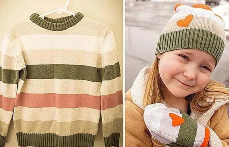 Старому свитеру-новая жизнь