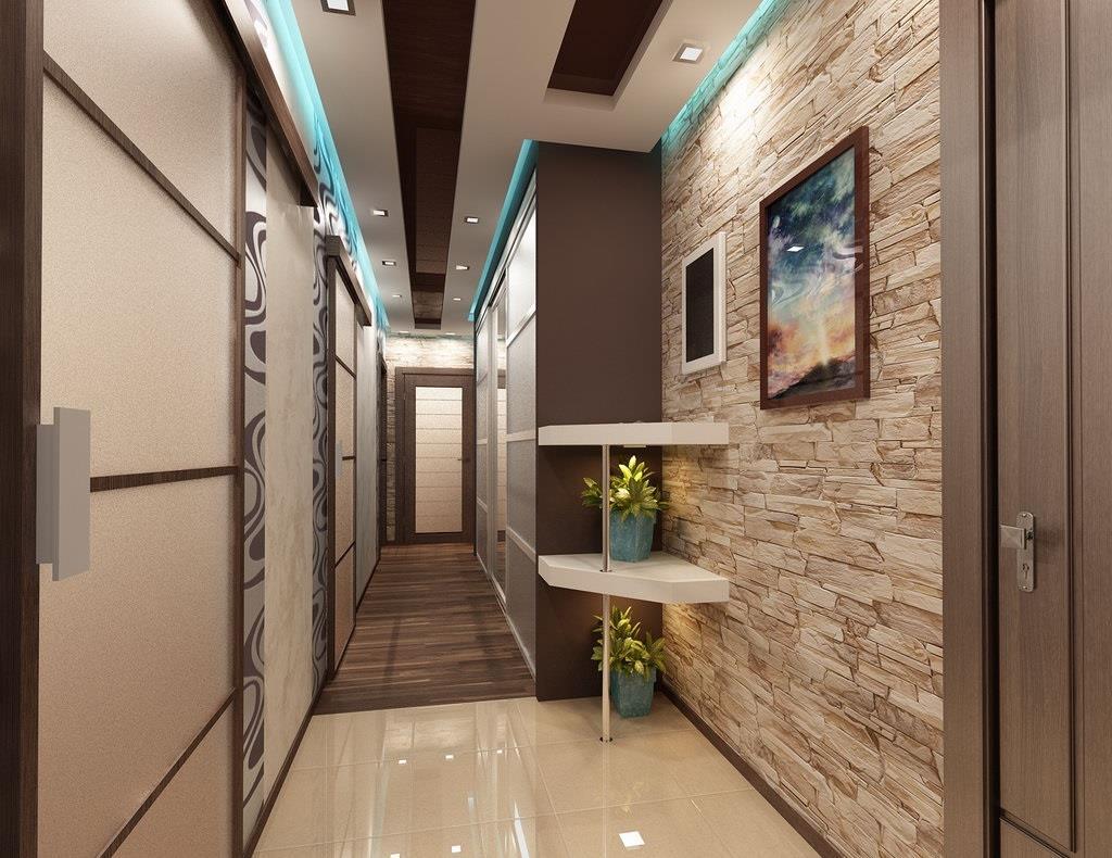 Фото дизайн коридоров в квартире фото