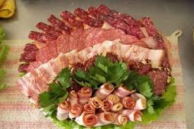 Красивые идеи подачи мясной нарезки