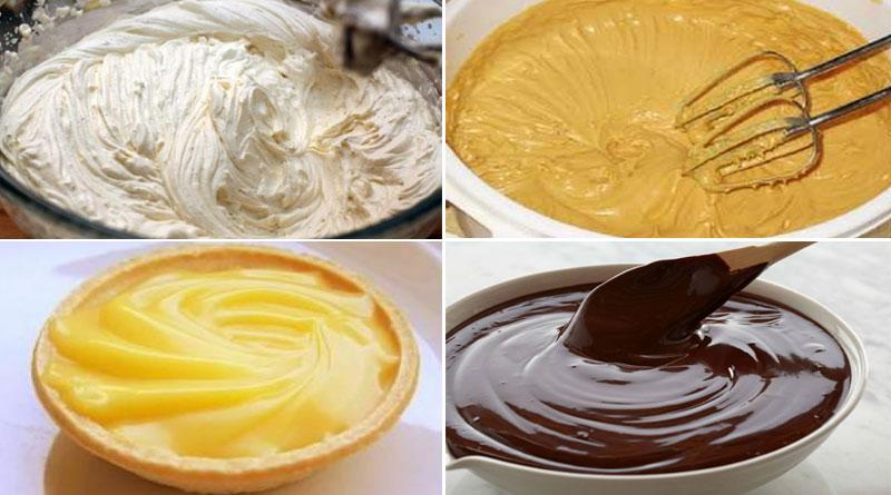 Простые и вкусные кремы для тортиков и пирожных