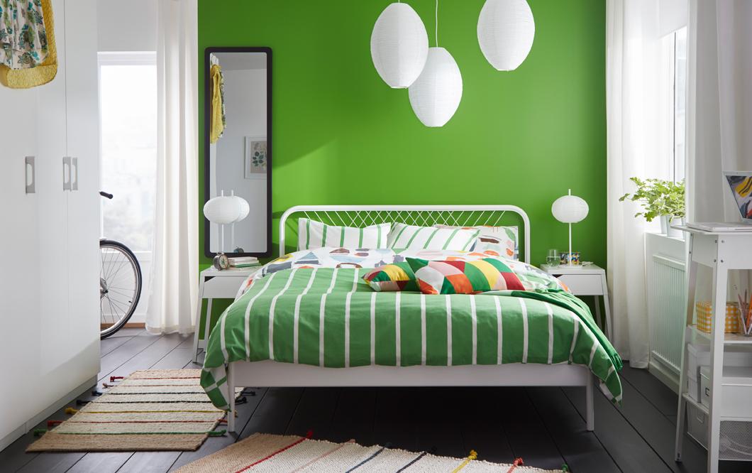 Бюджетные способы обновить спальню