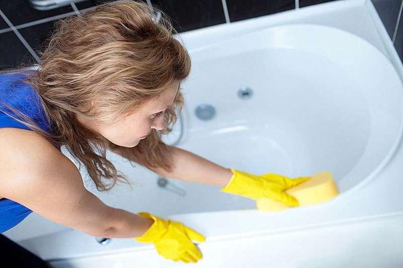 Рецепт чистки ванны