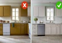 Как старую кухню превратить в новую, своими руками
