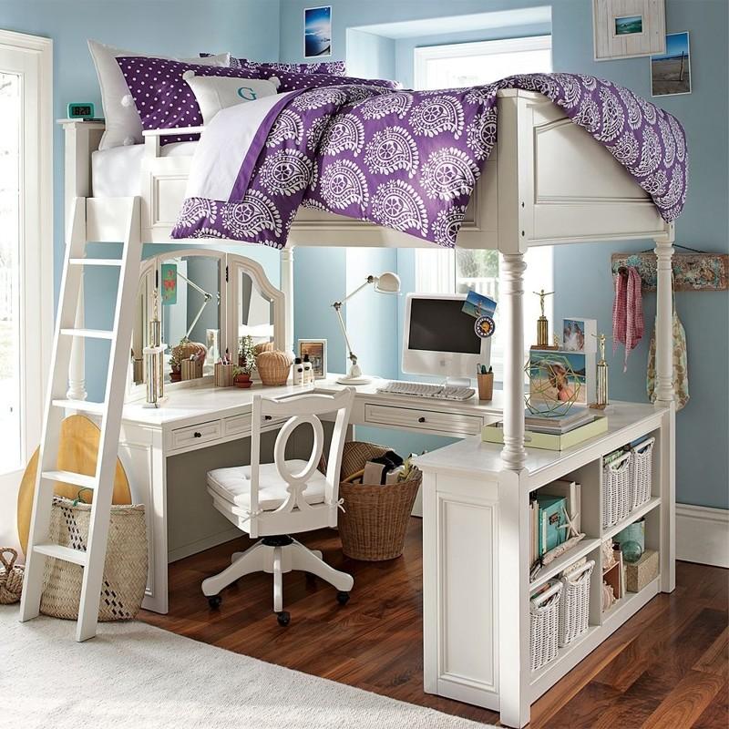 Идеи интерьера с использованием двухъярусной кровати