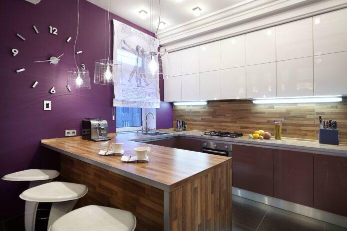 Примеры дизайна угловой кухни