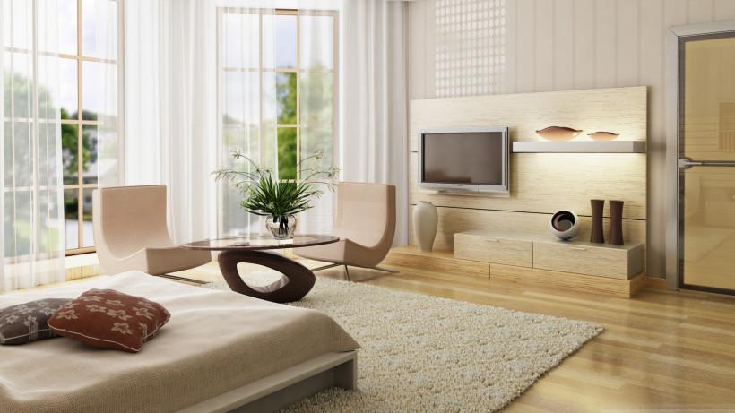 Секреты по увеличению пространства в маленькой комнате