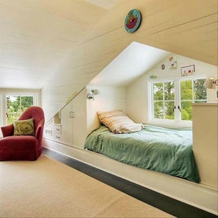 Кровати и спальни для больших семей и крохотных пространств