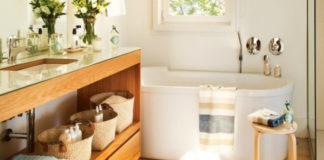 В ванную комнату через гардеробную