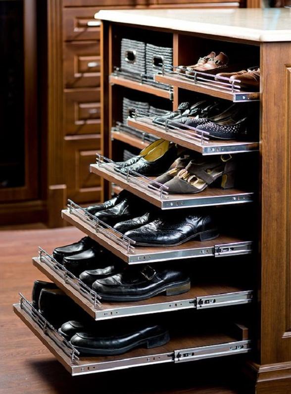 Идеи как обустроить гардеробную