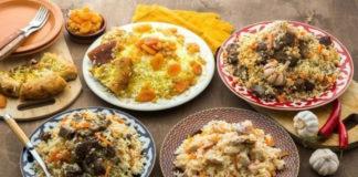 Плов огуджалинский — много мяса и мало риса